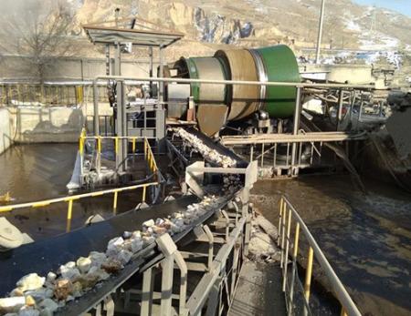 硅石精洗输送机